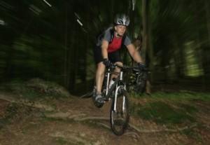 MTB Koeln Spaß im Wald